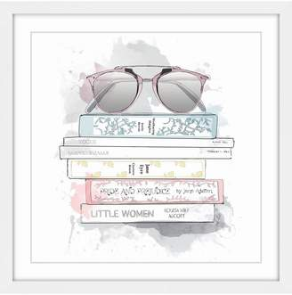 LIBRARY Marmont Hill Miss Framed Print)