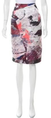 Prabal Gurung Printed Knee-Length Skirt