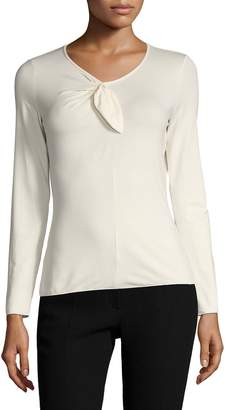 Armani Collezioni Women's Long Sleeve Tee