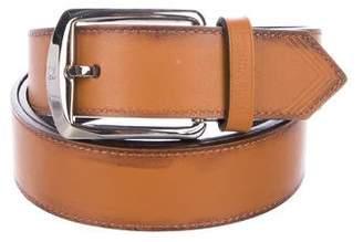 Louis Vuitton Logo Leather Belt