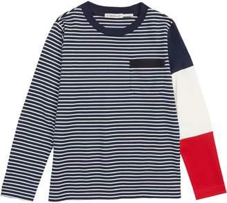 Moncler Stripe Long Sleeve T-Shirt