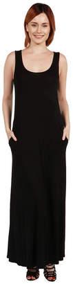 24/7 Comfort Apparel 24Seven Comfort Apparel Pocket Mini Dress - Plus