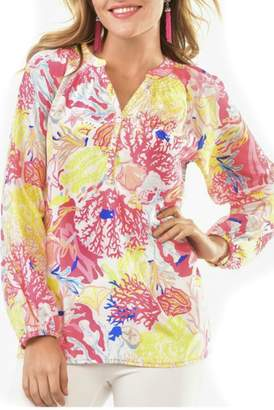 Paige Charlie Sealife Summer Blouse