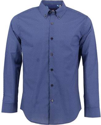 afff36b3c396 Lords of Harlech - Morris Shirt In Blue Boxes