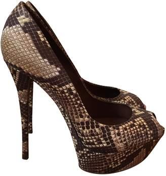 Casadei Python print Cloth Heels