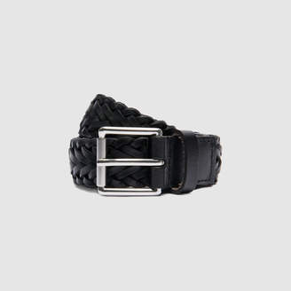 Sandro Woven leather belt