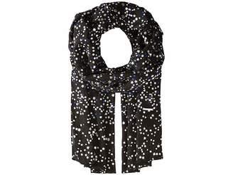 MICHAEL Michael Kors Twinkling Star Foil Printed Oblong Scarves