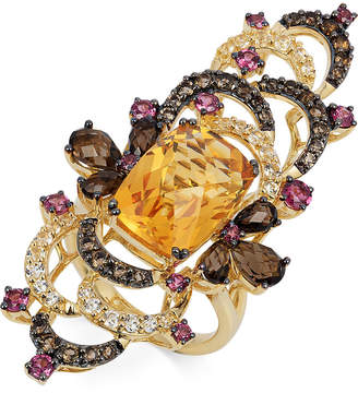 Le Vian Crazy Collection® Multi-Stone Ring (9-1/4 ct. t.w.) in 14k Gold, Only at Macy's $4,200 thestylecure.com