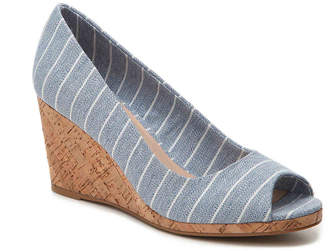 Women's Kaydena Wedge Pump -Grey $65 thestylecure.com