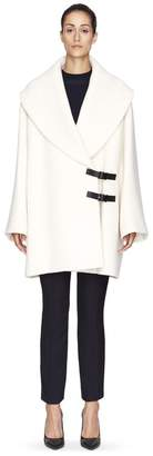 Lanvin White Wool Coat