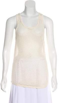 Isabel Marant Sleeveless Open-Knit Top