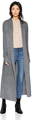 Cable Stitch Women's Open Placket Long Cardigan