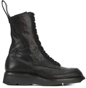 Julius midi combat boots