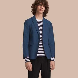 Burberry Lightweight Cotton Linen Jacket $795 thestylecure.com