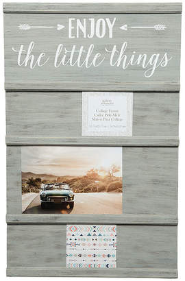 Asstd National Brand Greywash Little Things Sliding Photo Collage Frame