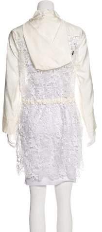 Kiton Hooded Silk Jacket
