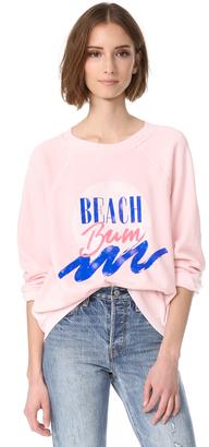 Wildfox Beach Bum Sweatshirt $108 thestylecure.com