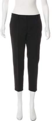 Giada Forte Mid-Rise Straight- Leg Pants