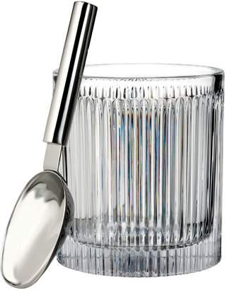 Waterford Aras Lead Crystal Ice Bucket & Scoop