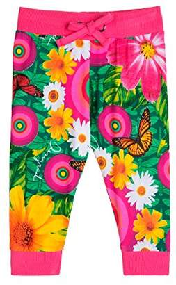 Desigual Baby-Girls TER Floral Trouser,(Manufacturer Size:6)