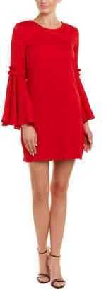 Milly Cassie Silk-Blend Shift Dress