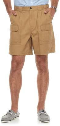 Croft & Barrow Men's Classic-Fit Side Elastic Cargo Shorts