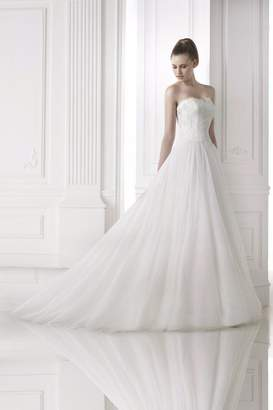 Pronovias Aline Lace Gown
