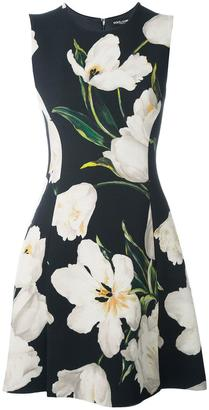 Dolce & Gabbana tulip print dress $1,995 thestylecure.com