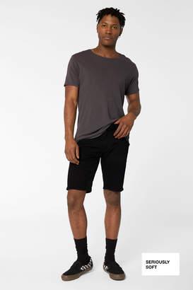 J Brand Eli Cutoff Short in Seriously Soft Black