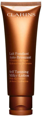 Clarins Self Tanning Milky-Lotion For Face and Body, 4.2 oz./ 125 mL