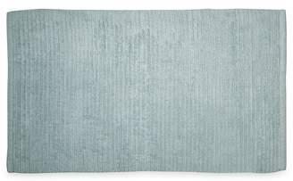 DKNY Light Blue Cotton 'Mercer' Bath Mat