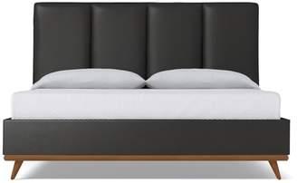 Apt2B Carter Upholstered Bed VEGAN LEATHER