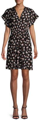 Rebecca Taylor Rosalie Floral Shift Dress