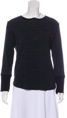 Calvin Klein Striped Long Sleeve Top