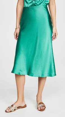 Rebecca Taylor Charmeuse Skirt
