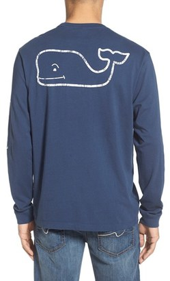 Men's Vineyard Vines Pocket Long Sleeve T-Shirt $48 thestylecure.com