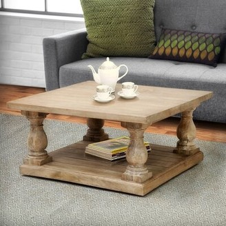 One Allium Way Voss Pedestal Coffee Table One Allium Way
