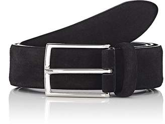 Barneys New York Men's Suede Belt