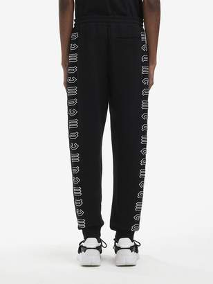 McQ Gothic Repeat Logo Sweatpants