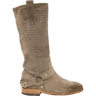 John Richmond Brown Suede Boots