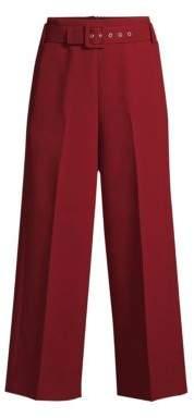 BOSS Trima Wide Leg Crop Trousers