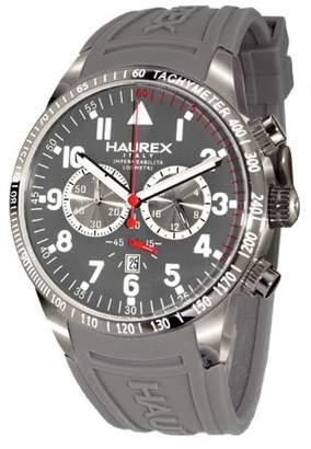 Haurex Italy Men's 3J300UGG Arrow Chronograph Grey Dial Watch