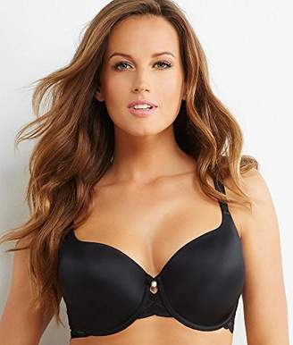 Couture Curvy Women's Plus Size Lace and Shine T-Shirt Bra