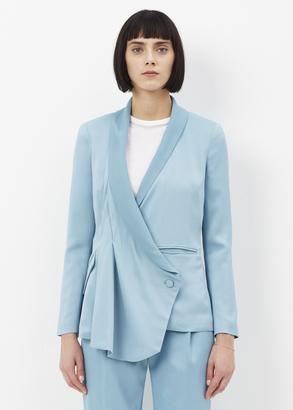 Rachel Comey aqua hutton jacket $621 thestylecure.com