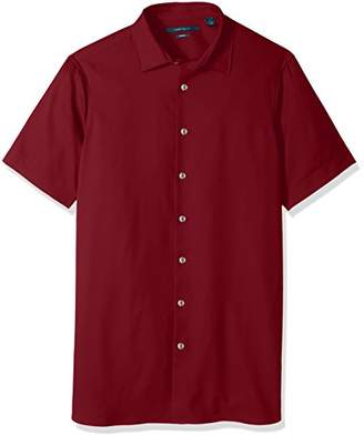 Perry Ellis Men's Big and Tall Total Stetch Solid Shirt