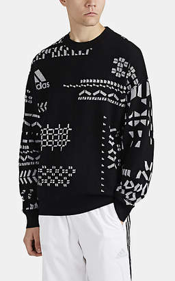 Gosha Rubchinskiy X adidas Men's Logo-Knit Wool-Blend Sweater - Black