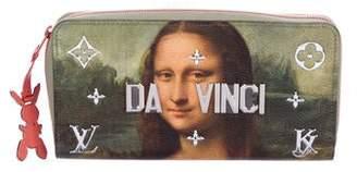 Louis Vuitton 2017 Masters Collection Da Vinci Zippy Wallet