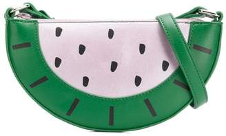 Stella McCartney watermelon clutch bag