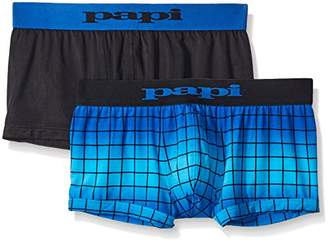 Papi Men's Cool 2-Pack Brazilian Trunk