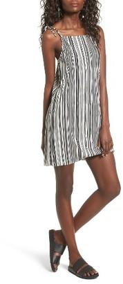 Women's Mimi Chica Bodre Tie Strap Slipdress $45 thestylecure.com